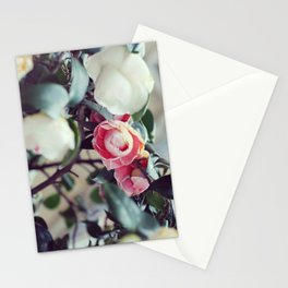 Madrid // Roses along Paseo del Prado Stationery Cards