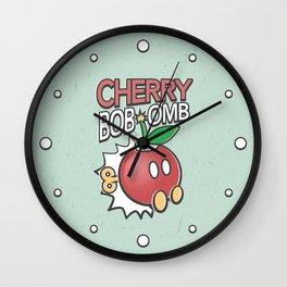 Cherry Bob-omb Wall Clock