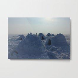 igloo Metal Print