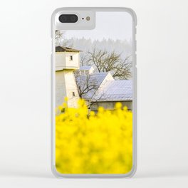 Napa Valley Mustard Clear iPhone Case