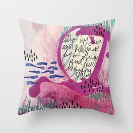 Day Song Throw Pillow