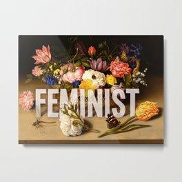 Feminist II Metal Print