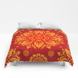 PATTERN ART03 - Red Comforters