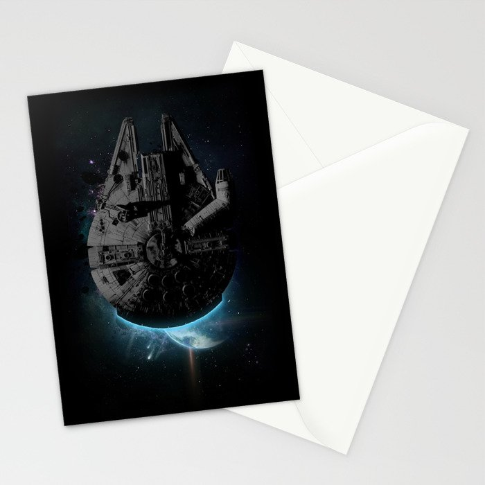 Stealth Falcon Stationery Cards