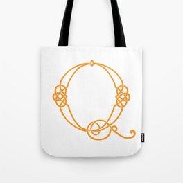 Celtic Knot Initial Q Tote Bag