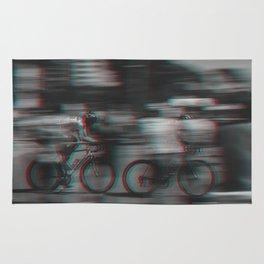 Cycling Race II Rug