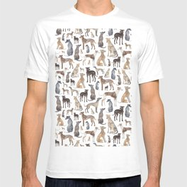 Greyhounds and Whippets T-shirt