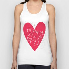 Virginia is for Lovers Unisex Tank Top