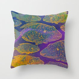 Shoal Throw Pillow