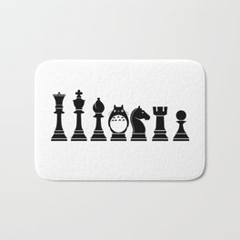 Chess Anime Character Bath Mat