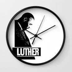 Luther - Idris Elba Wall Clock