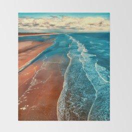 Sky Tide Throw Blanket