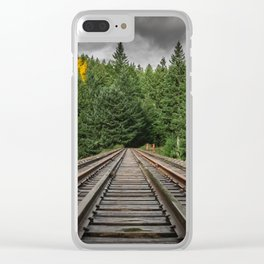 Upper Trestle Clear iPhone Case