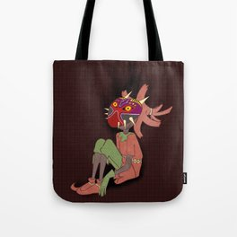 Skull Kid Tote Bag