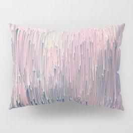 Blush Glitches Pillow Sham