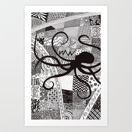 Cephalopoda Art Print