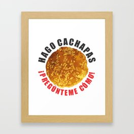 Hago Cachapas Framed Art Print
