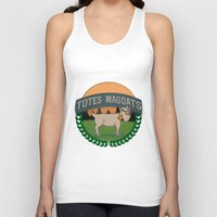 totes Tank Tops featuring Totes Magoats by LaurenPyles