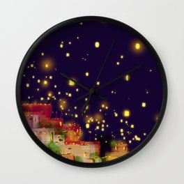 Lights of Hope... Wall Clock