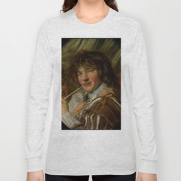 "Frans Hals ""The smoker"" Long Sleeve T-shirt"