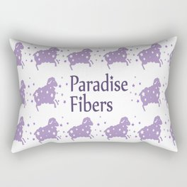 Glitter Sheep Rectangular Pillow