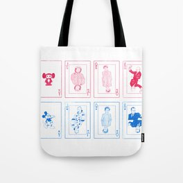 Cold War Games Tote Bag