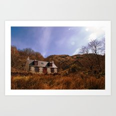 Cailness Cottage Art Print