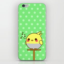 Kawaii birdy iPhone Skin