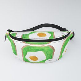 Avocado Toast with Egg - Yum! Fanny Pack