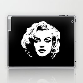 Marilyn - Black and White - Monroe - Pop Art Laptop & iPad Skin