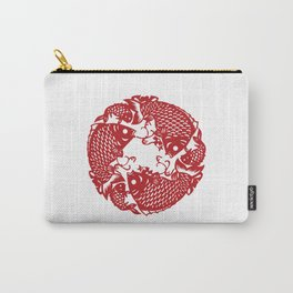 Chinese culture - Nian nian you yu. Carry-All Pouch