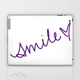 Purple Smile Laptop & iPad Skin