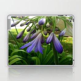 Purple Agapanthus Laptop & iPad Skin