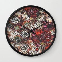 Weeds Wall Clock