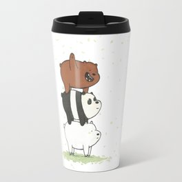 We Bare Bears by Maria Piedra Travel Mug