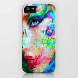 Female Expressions 9560 iPhone Case