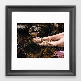 Rinse Framed Art Print