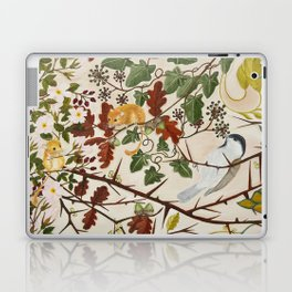 Marsh Tit and Field Mice Laptop & iPad Skin