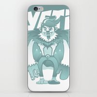 yeti iPhone & iPod Skins featuring Yeti by gajuscd
