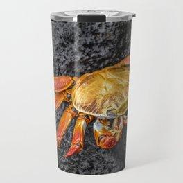 Colored Crab at Galapagos Island, Ecuador Travel Mug