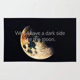 Dark side of the moon Rug