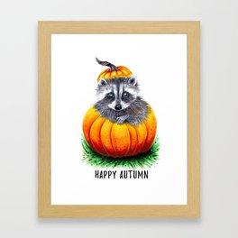Little pumpkin Framed Art Print