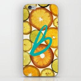 Citrus - Citron (Recettes du Bonheur) iPhone Skin