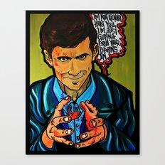 Norman Bates Canvas Print