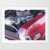 muscle Art Prints featuring muscle 2 by Davey Charles