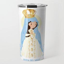 Virgen del Valle Travel Mug