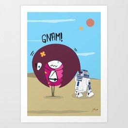 R2 D2 Mec Art Print