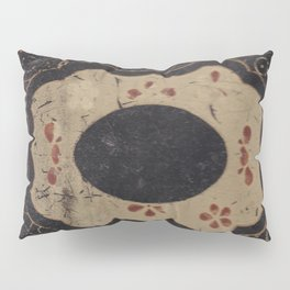 Vintage Japanese lacquer box pattern Pillow Sham