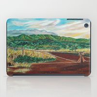 country iPad Cases featuring Country by Art by Risa Oram