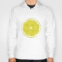 lemon Hoodies featuring Lemon by Avigur